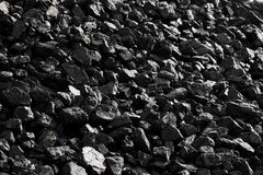 Coal lumps. The great Heaps of coal Royalty Free Stock Images