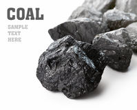 Coal Lumps Royalty Free Stock Photography
