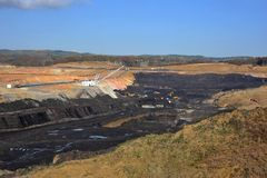Coal mine 04 Royalty Free Stock Photos