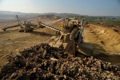 Coal mine 14 Royalty Free Stock Image