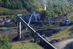 Coal mine. In  West Virginia Royalty Free Stock Photography