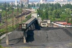 Coal mine Stock Image