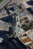 Coal mine aerial Royalty Free Stock Images