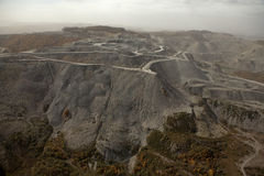 A coal mine, Appalachia, America Royalty Free Stock Photos