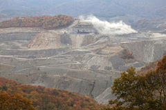 A coal mine, Appalachia, America Stock Photo