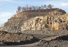 Coal mine in Appalachia Stock Photo