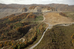 Coal Mine Appalachia Royalty Free Stock Photos