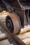 Coal mine cart. Stock Image