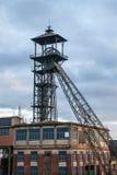 Coal mine at dawn Royalty Free Stock Photos