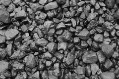 Coal mine. Deposit mineral black after the rain Royalty Free Stock Image