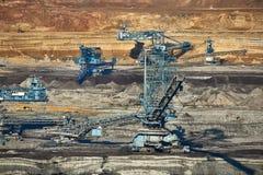 Coal Mine Excavation Stock Image