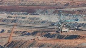 Coal Mine Excavation stock footage