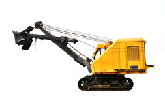 Coal mine excavator vechicle Royalty Free Stock Photo