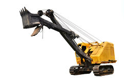 Coal mine excavator vechicle Stock Photography