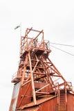 Coal mine head gear Stock Image