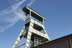 Coal mine headframe, Herne, Germany Royalty Free Stock Image