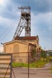 Coal mine. Industrial place, blue sky Stock Image