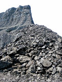 Coal mine isolated Royalty Free Stock Images