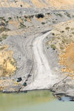 Coal Mine. Landscape of a  coal mine in India Royalty Free Stock Photo
