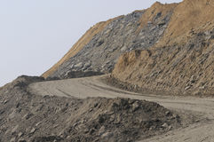 Coal Mine. Royalty Free Stock Photo