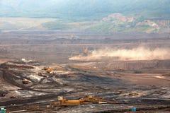 Coal mine, Most,Czech Republic. Industrial place stock images