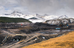 Coal Mine Royalty Free Stock Photography