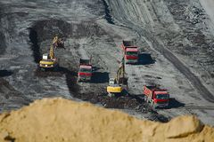 Coal Mine Stock Image