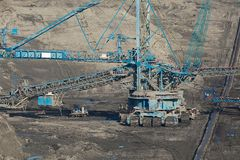 Coal Mine Royalty Free Stock Image