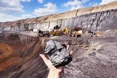 Coal mine Stock Photography