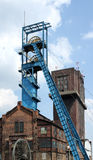 Coal mine shaft Royalty Free Stock Photography