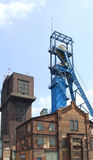 Coal mine shaft Stock Images