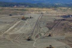Coal mine, Sokolov,Czech Republic royalty free stock images