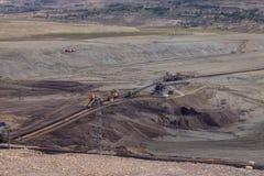 Coal mine, Sokolov,Czech Republic stock image
