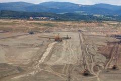Coal mine, Sokolov,Czech Republic. Coal royalty free stock images