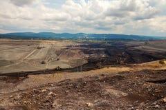 Coal mine, Sokolov,Czech Republic. Industrial place stock images