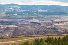 Coal mine, Sokolov,Czech Republic. Industrial place stock photo