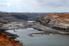 Coal mine in South Australia. A huge coal mine in South Australia Royalty Free Stock Image