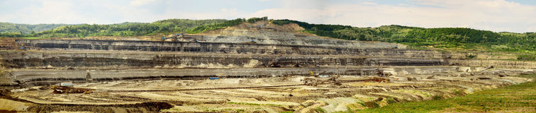 Coal mine Royalty Free Stock Photos
