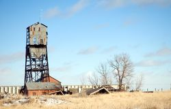 Coal Mine Tower Stock Photography