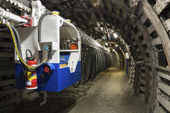 Coal Mine Transporter Royalty Free Stock Photography