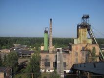 Coal mine in Ukraine. Lviv region Stock Photography