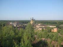 Coal mine in Ukraine. Lviv region Stock Photos