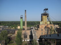 Coal mine in Ukraine Royalty Free Stock Images
