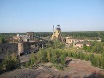Coal mine in Ukraine. Lviv region Royalty Free Stock Photo