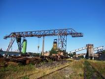Coal mine in Ukraine Royalty Free Stock Photo