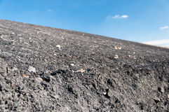 Coal mine waste heap Stock Photography