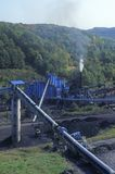 Coal mine, WV stock photography
