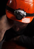 Coal miner Royalty Free Stock Photos