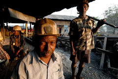 Coal Miner Stock Photo