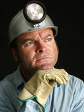 Coal Miner - Portrait Stock Photography